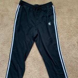 Adidas 3 Stripe trackpants